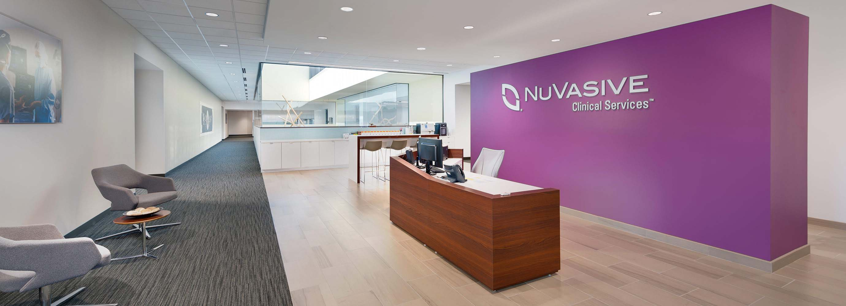 NuVasive Office Fit-Out | Project Gallery | Harkins Builders