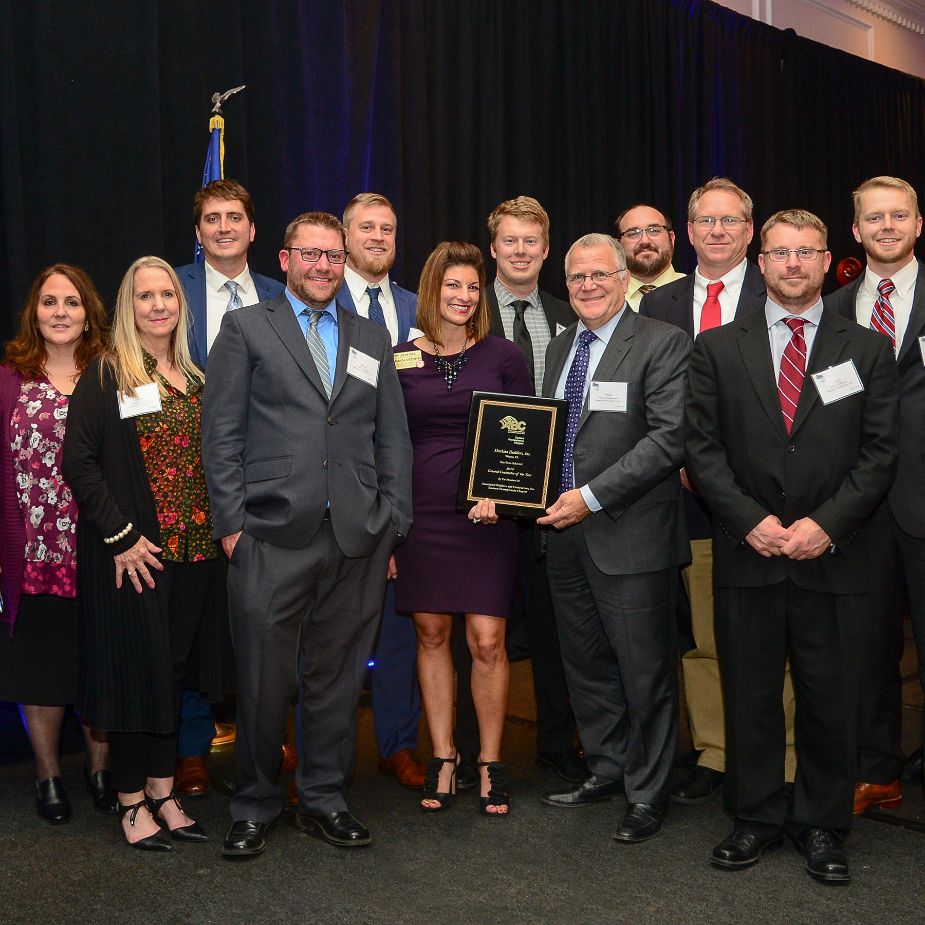 Harkins Named General Contractor of the Year by ABC Eastern PA