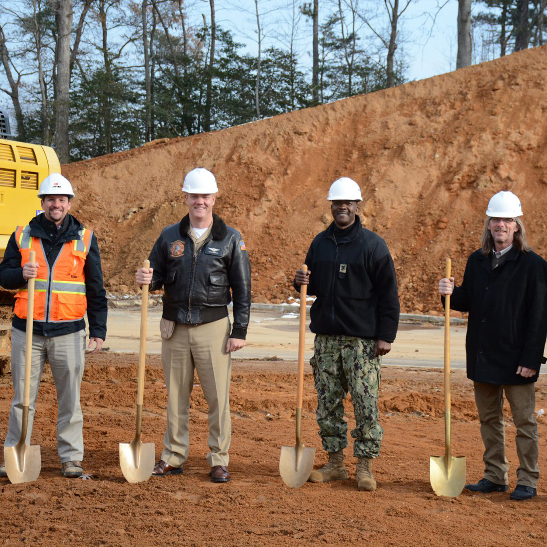 P-975 Unaccompanied Housing Facility Breaks Ground