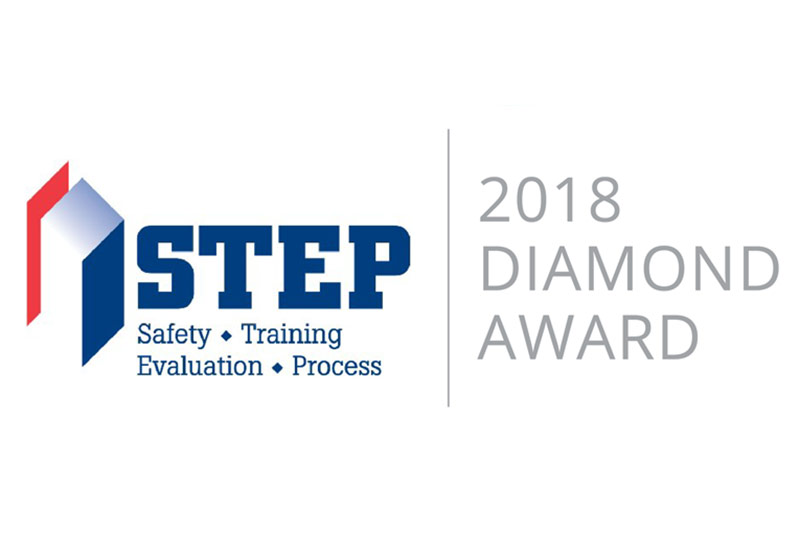 STEP Diamond award