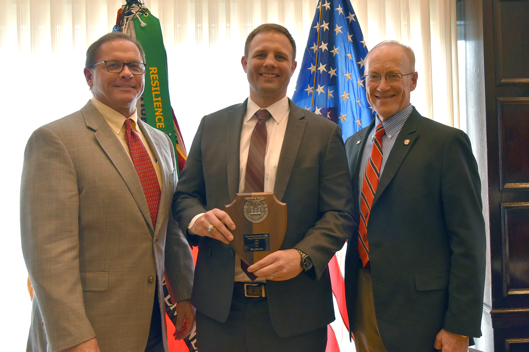 Project Executive Ben Nichols Receives Award