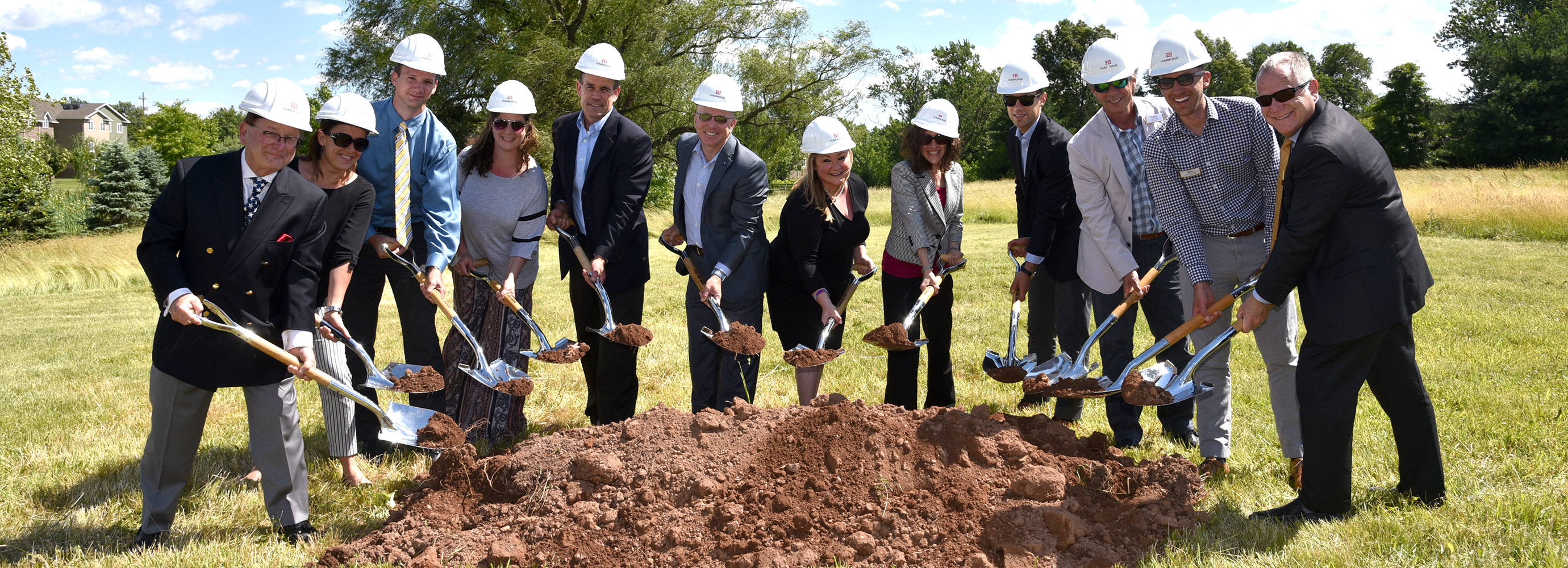 Construction team breaks ground on project in PA