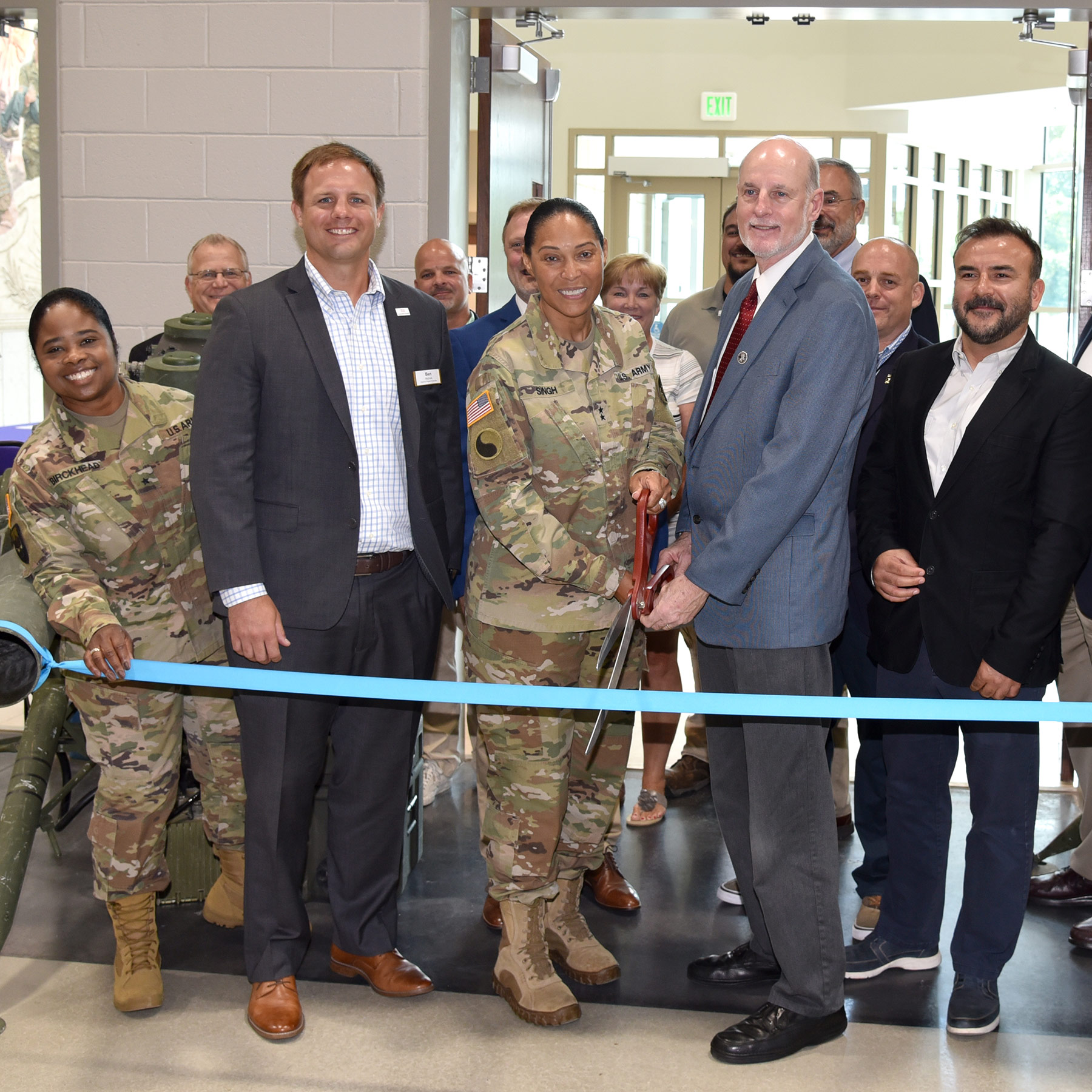 Easton Readiness Center Celebrates Ribbon Cutting
