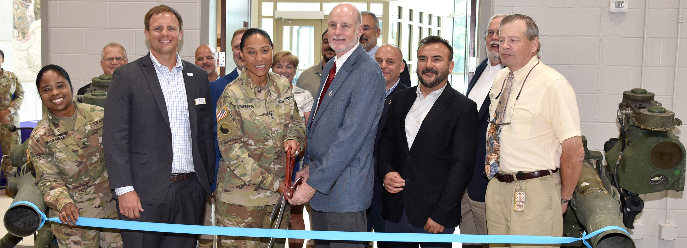 Government Construction Readiness Center Ribbon Cutting