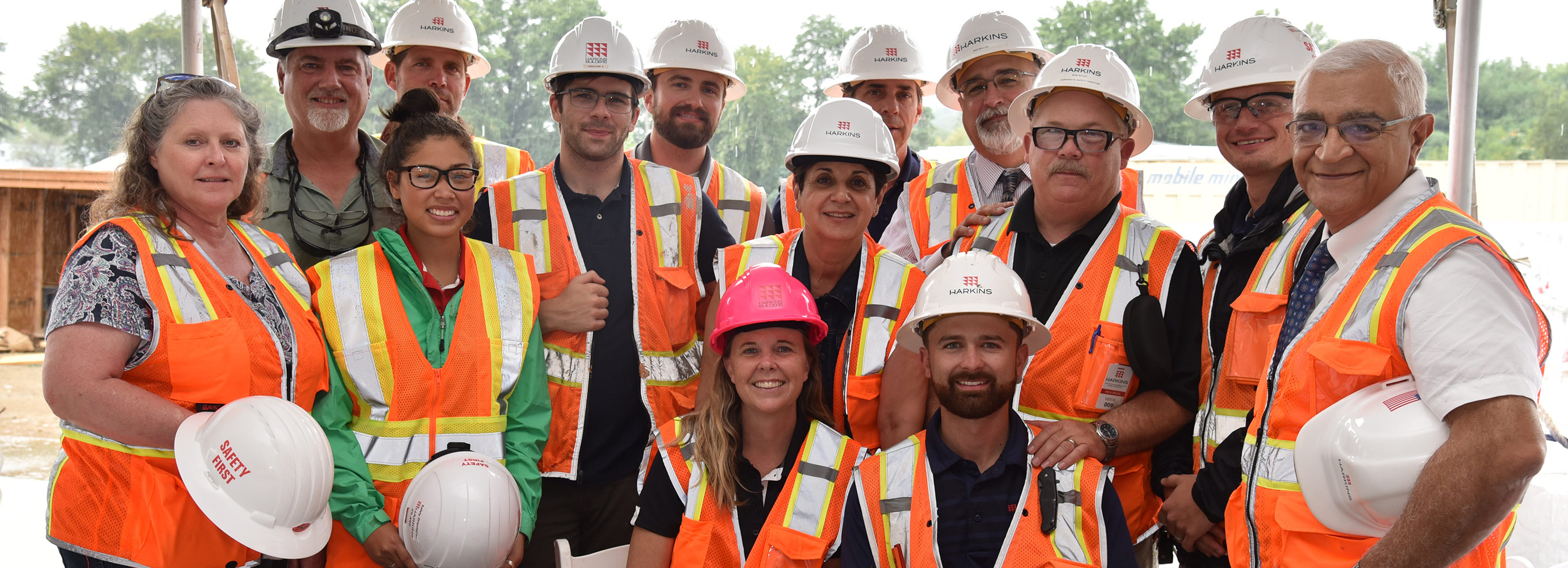 Construction Topping Out Group Harkins