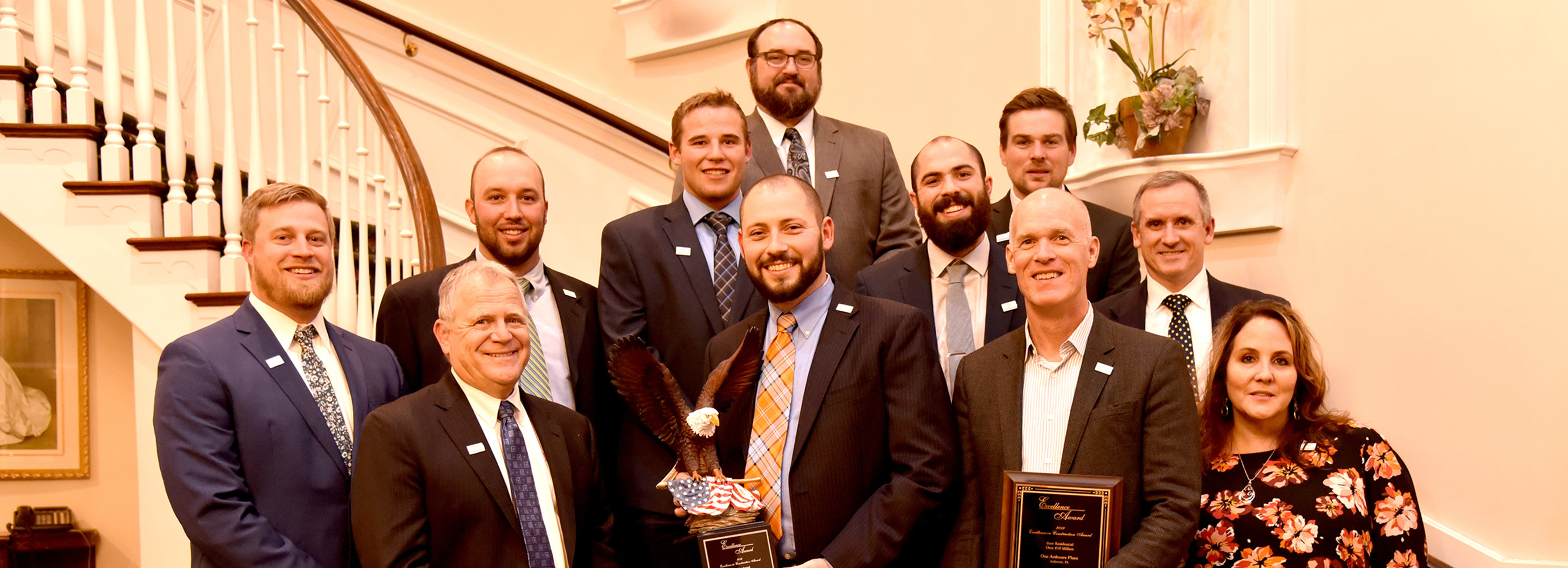 Group with two awards ABC PA