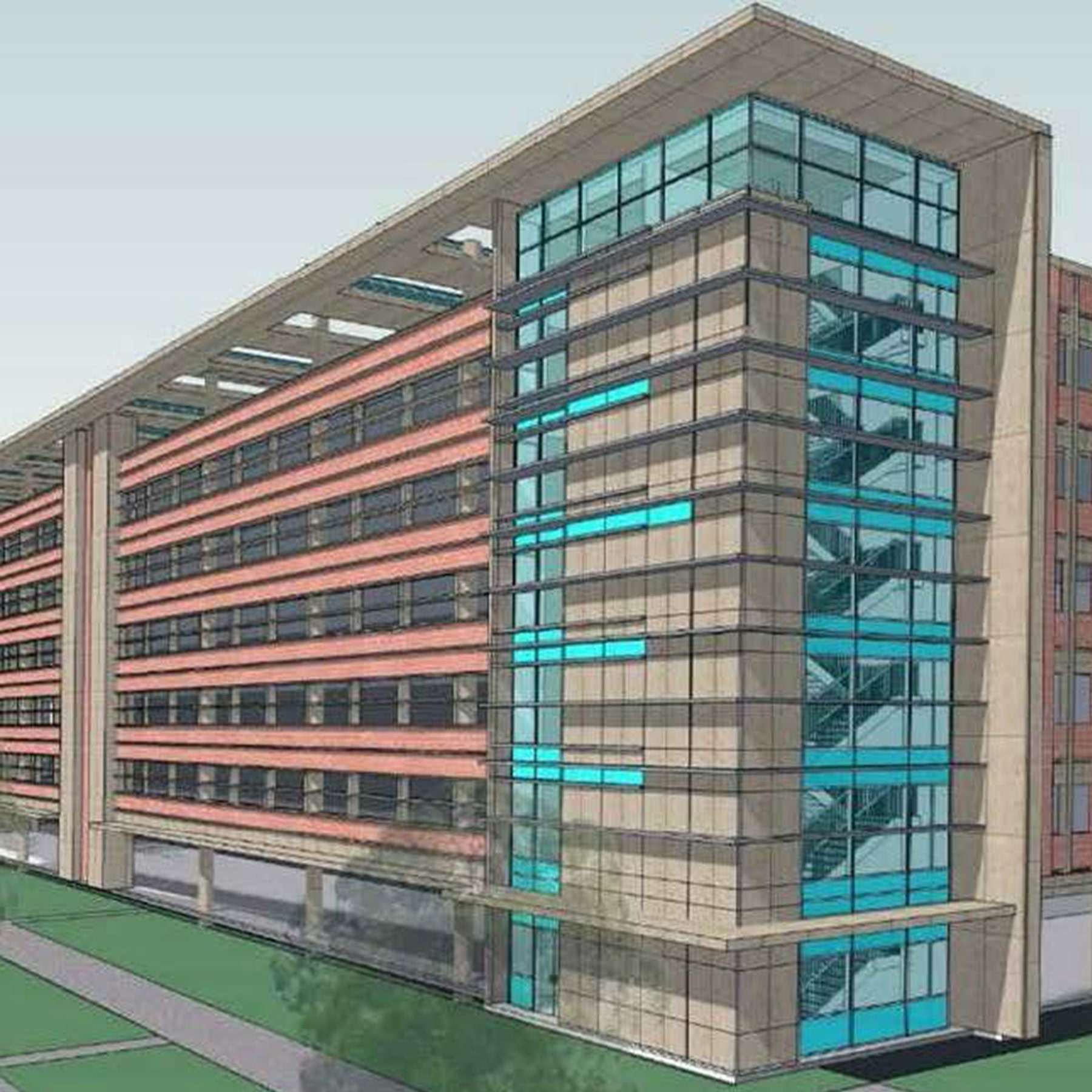 Harkins Awarded DOS Parking Structure