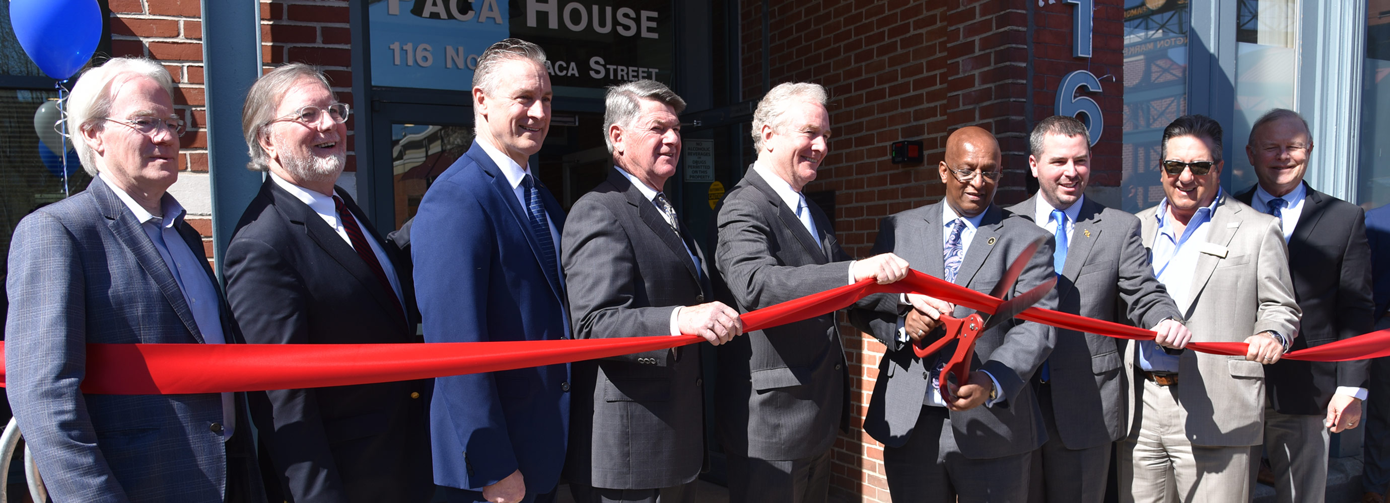 Group cuts ribbon on affordable housing project in Baltimore