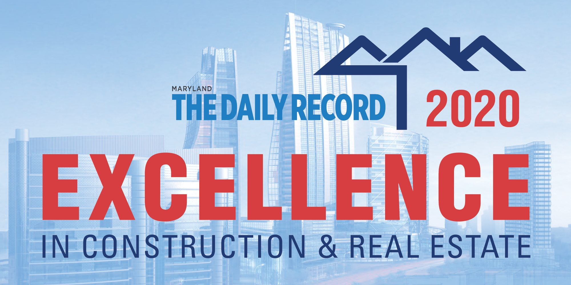Harkins honoree in The Daily Record 2020 Excellence in Construction & Real Estate
