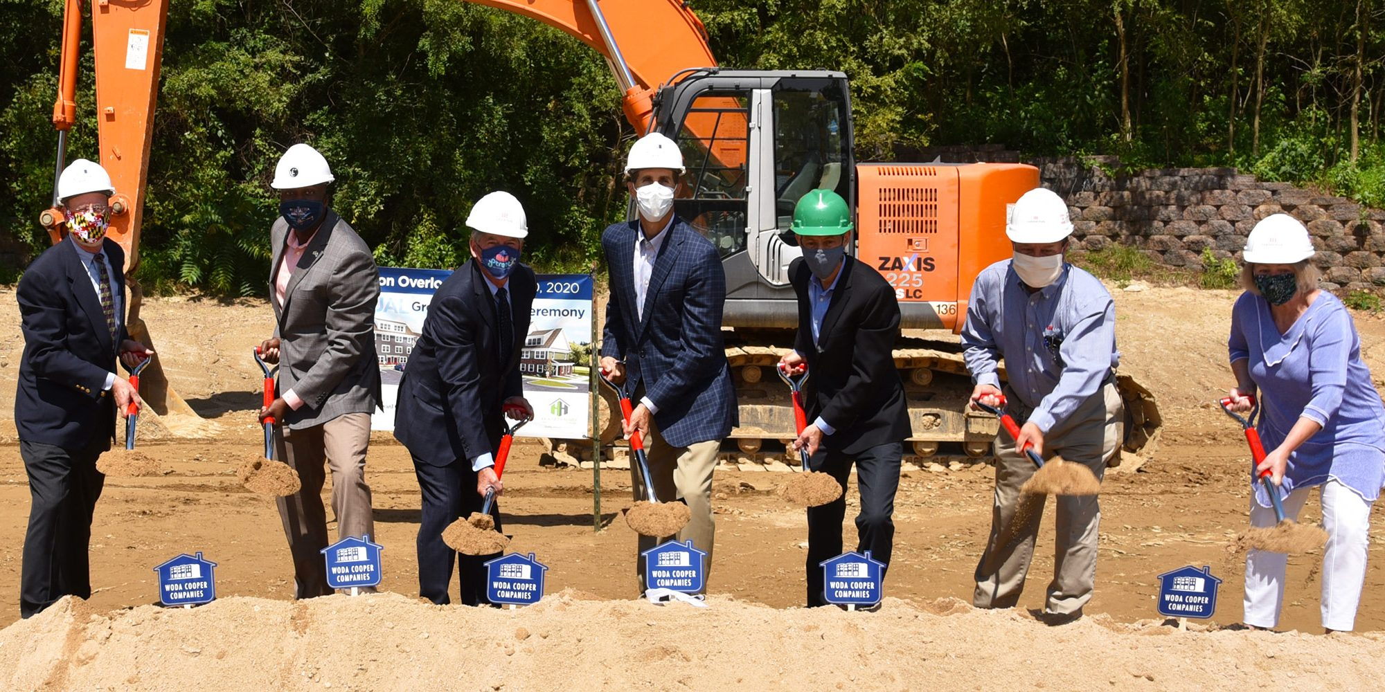 Robinson Overlook virtual groundbreaking ceremonial dig