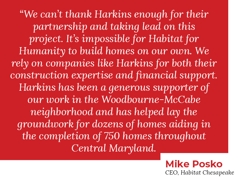 Mike Posko quote Harkins and Habitat groundbreaking of home